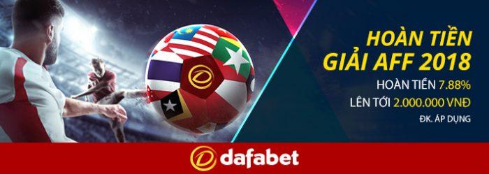 Cá cược AFF CUP 2018 ở đâu tốt nhất? Đặt cược Việt Nam vô địch