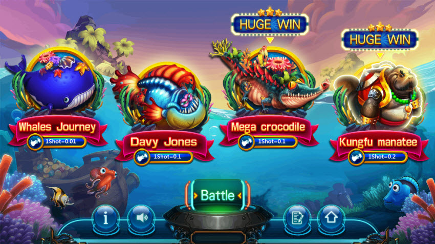 top-5-game-ban-ca-an-tien-that-cuc-ky-hap-dan-tren-dafabet-Game bắn cá Paradise Fishing