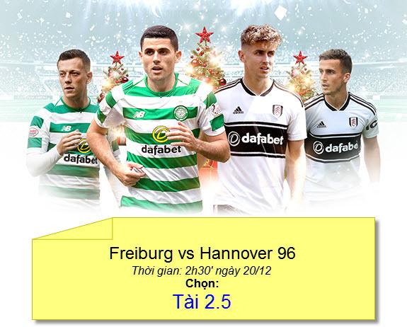 dafabet keo bong da Freiburg vs Hannover 96