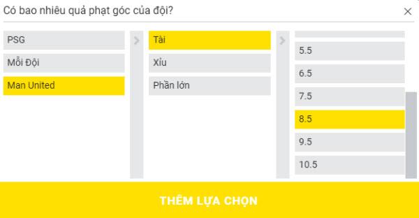 PSG vs Man United - Cược thử bằng tính năng Siêu cược Dafabet