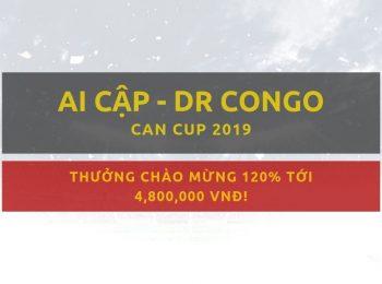 Ai Cập vs DR Congo (CAN Cup): Gợi ý đặt cược Dafabet 27/06