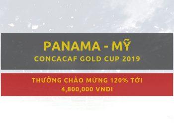 Panama vs Mỹ (Giải CONCACAF Bắc mỹ) Link cược Dafabet ngày 27/06
