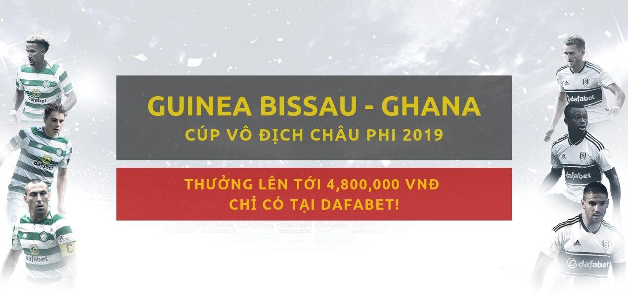 Mạng bóng Dafabet Guinea-Bissau vs Ghana