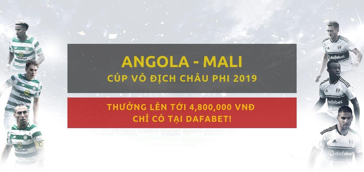 Tỷ lệ cược Dafabet - Angola vs Mali (3-7)