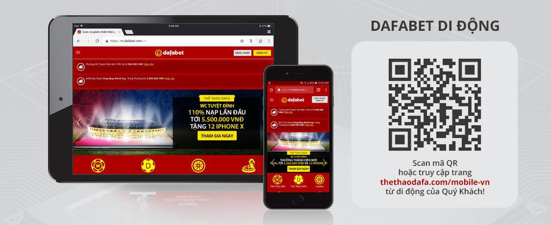 Vào Dafabet bằng điện thoại dafabet-link 1
