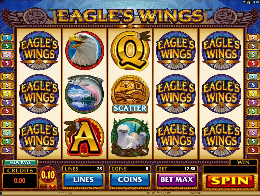 eagle's wings tro choi canh dai bang dafabet