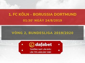 FC Koln vs Dortmund (24/8)
