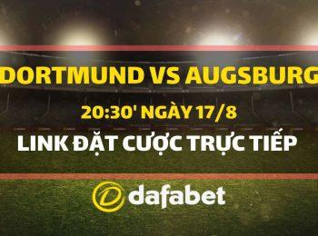 Dortmund vs Augsburg (17/8)