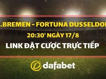 Bremen vs Dusseldorf (17/8)