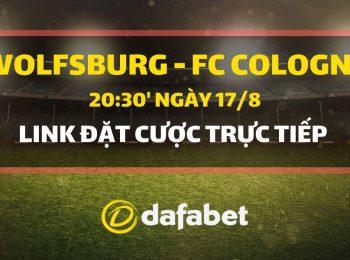 Wolfsburg vs FC Cologne (17/8)