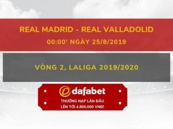 Real Madrid vs Valladolid 25/8
