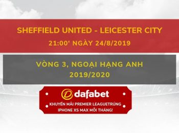 Sheffield vs Leicester (24/8)