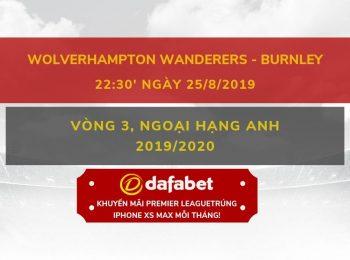 Wolves vs Burnley (25/8)