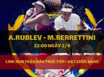 A.Rublev – M.Berrettini (2/9)