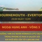 Bournemouth vs Everton 15/9