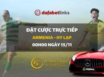 Armenia – Hy Lạp (16/11)
