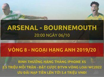 Arsenal vs Bournemouth 6/10
