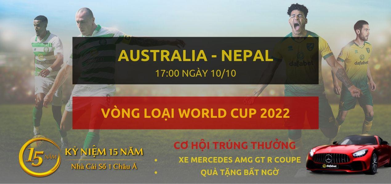 Australia - Nepal-Vong Loai WC2022-10-10