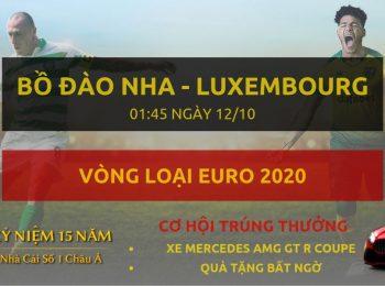 Bồ Đào Nha vs Luxembourg 12/10