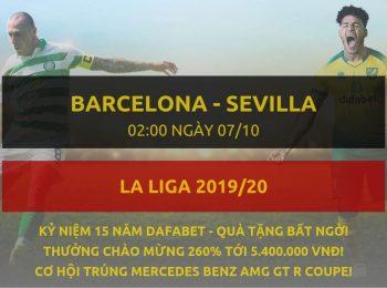 Barcelona vs Sevilla 7/10
