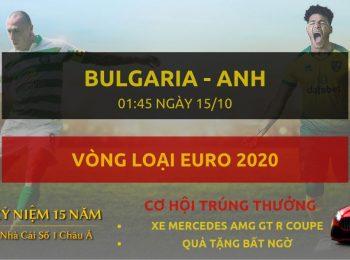 Bulgaria vs Anh 15/10