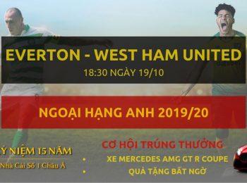 Everton vs West Ham19/10