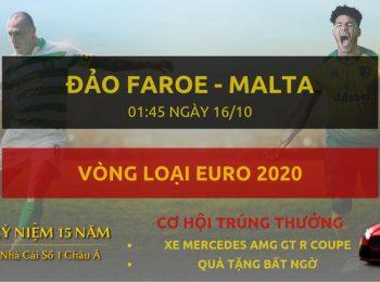Faroe vs Malta 16/10