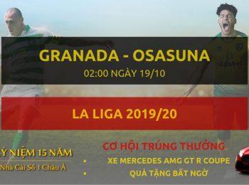 Granada vs Osasuna 19/10
