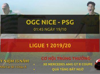 OGC Nice vs PSG 19/10