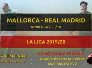 Mallorca vs Real Madrid 20/10