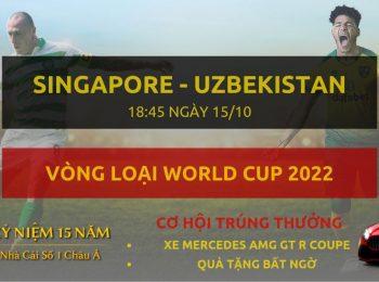 Singapore vs Uzbekistan 15/10