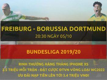 Freiburg vs Borussia Dortmund 05/10