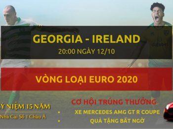 Georgia vs Ireland 12/10