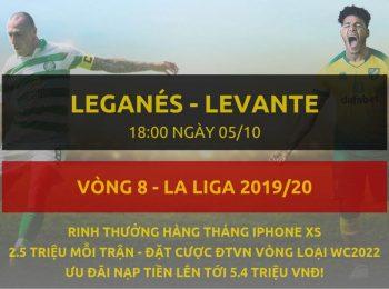 Leganes vs Levante 5/10