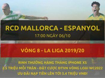 Mallorca vs Espanyol 6/10