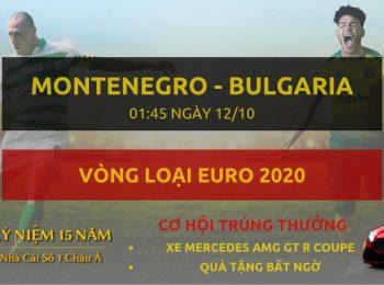 Montenegro vs Bulgaria 12/10