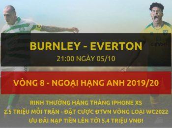 Burnley vs Everton 5/10