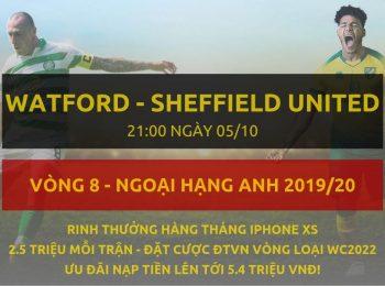 Watford vs Sheffield 5/10