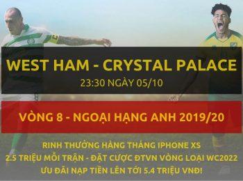 West Ham – Crystal Palace