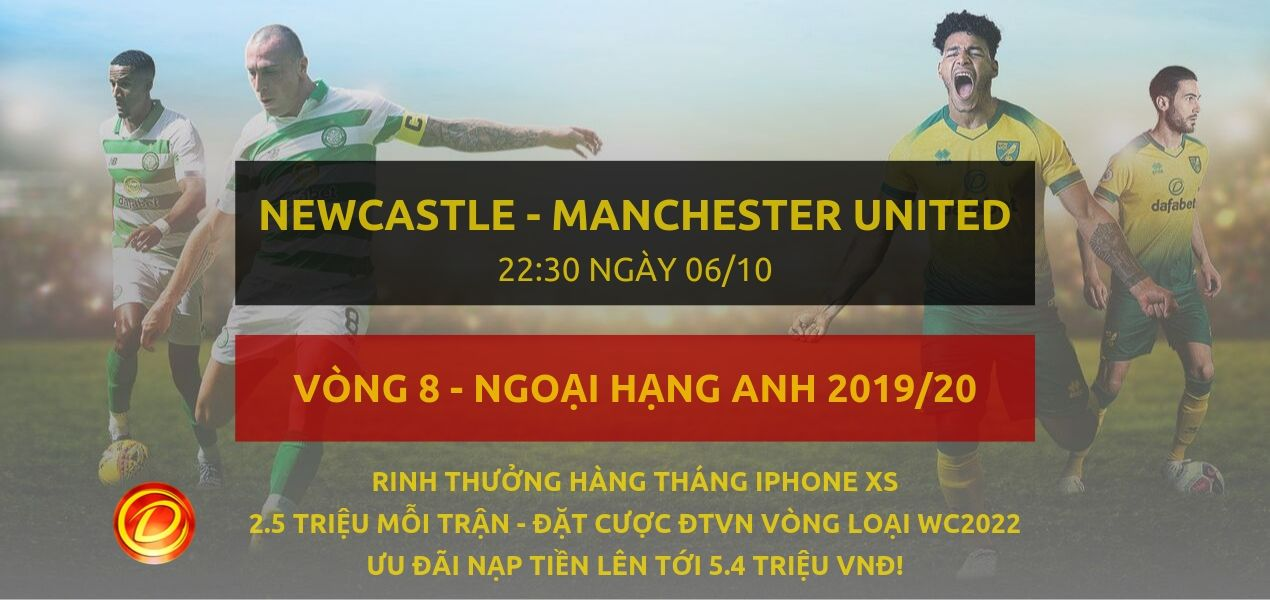 Newcastle United vs Manchester United-ngoai hang anh-06-10