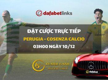 Perugia Calcio – Nuova Cosenza Calcio (03h00 ngày 10/12)