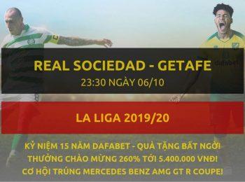 Real Sociedad vs Getafe 6/10