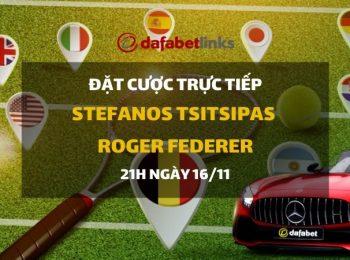 Stefanos Tsitsipas – Roger Federer