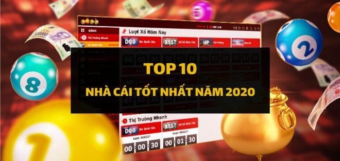 Top 10 nhà cái tốt nhất Việt Nam năm 2020