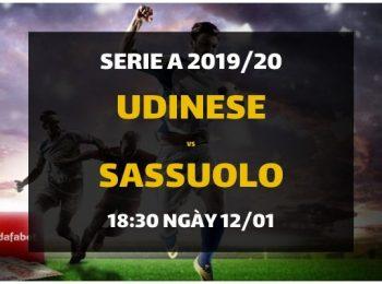 Udinese – Sassuolo