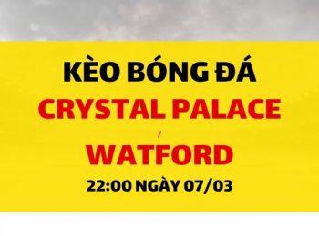 Crystal Palace – Watford
