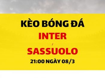 Inter Milan – Sassuolo