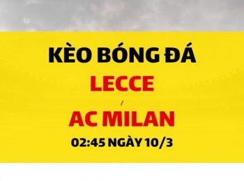 Lecce – AC Milan