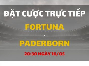 Fortuna Dusseldorf – SC Paderborn (20h30 ngày 16/05)